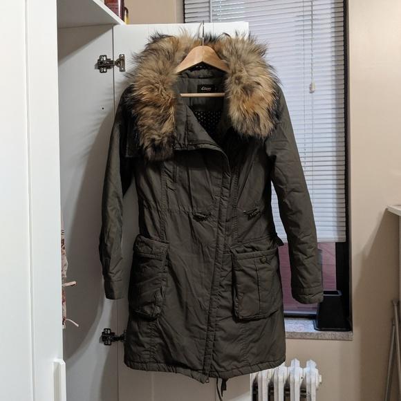 Etam Jackets & Blazers - Etam Insulated Fur Collar Jacket